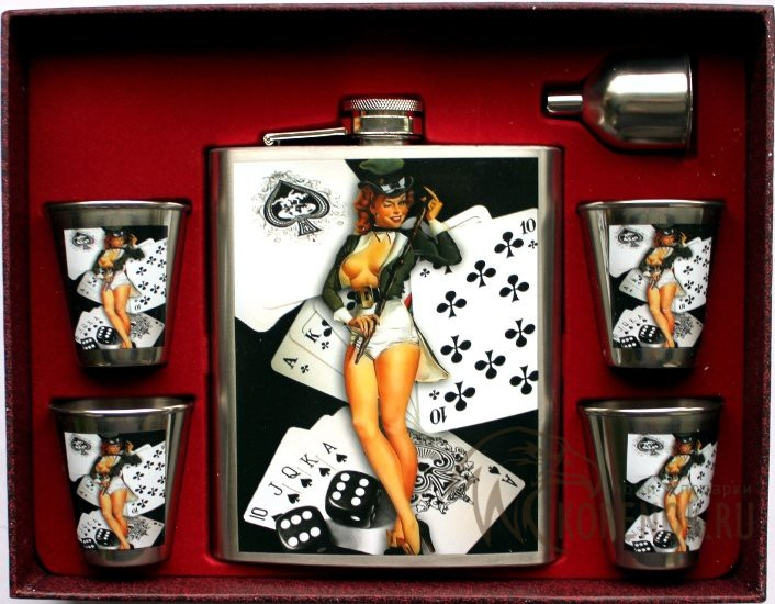 Подарочный Набор Покерных